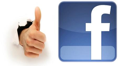 Bot�o LIKE e maior intera��o com o Facebook.
